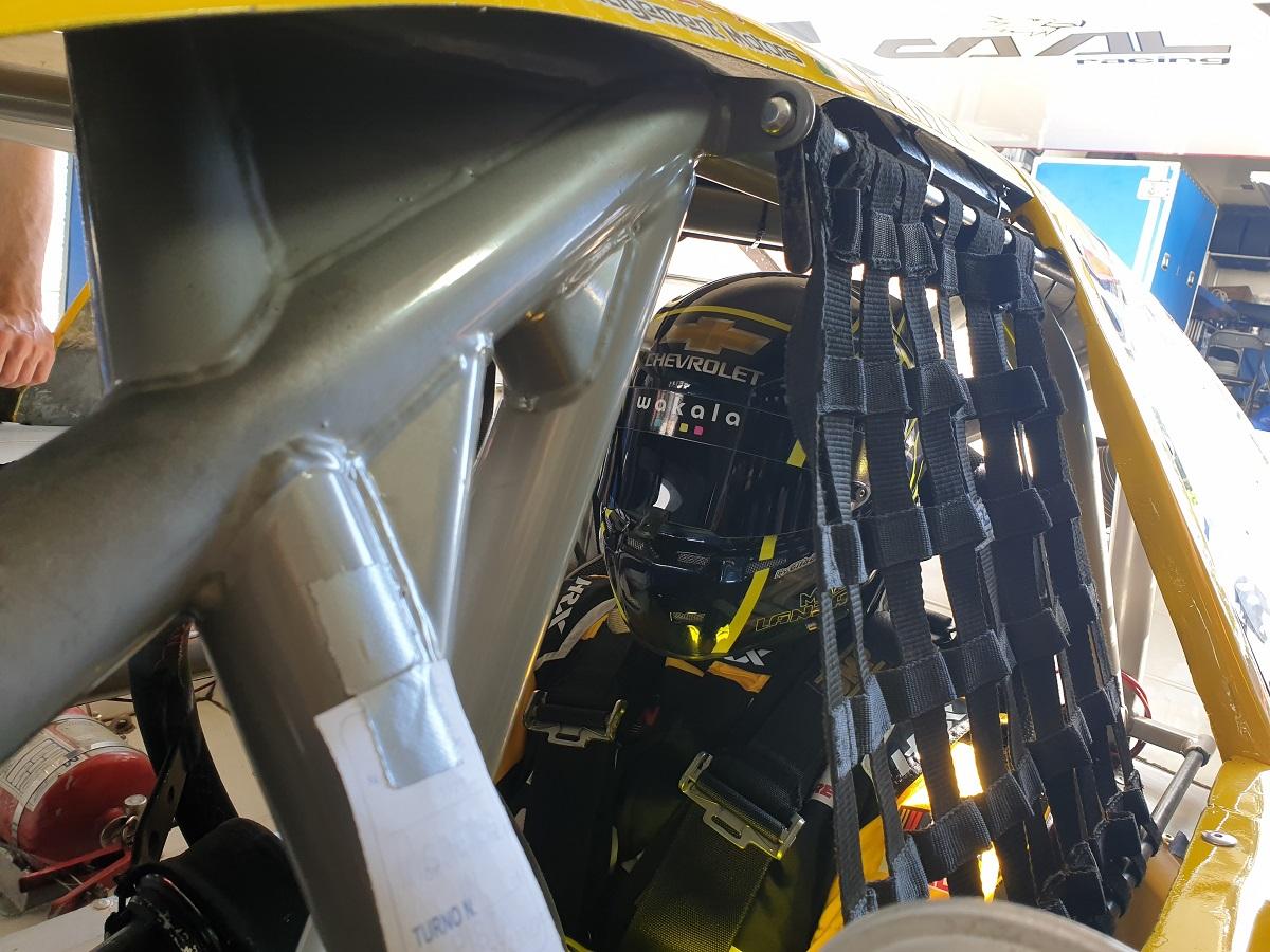 lanza test magione euronascar caal racing