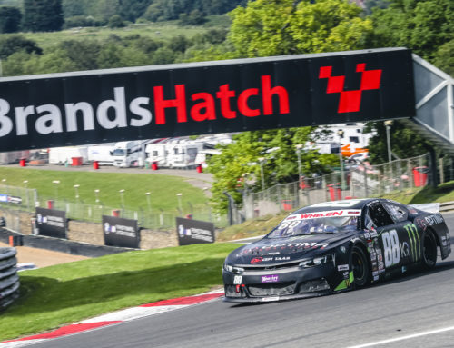 Another Legend Trophy win for Max Lanza in the EuroNASCAR UK GP